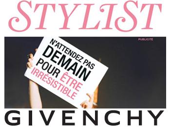 Givenchy et Stylist