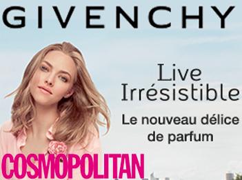 Givenchy et Cosmopolitan