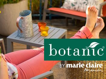 Botanic et Marie Claire Maison