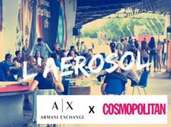 Armani Exchange X Cosmo